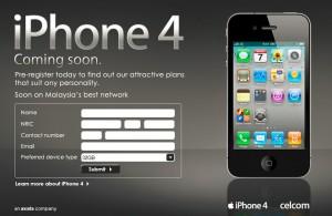 Celcom Iphone